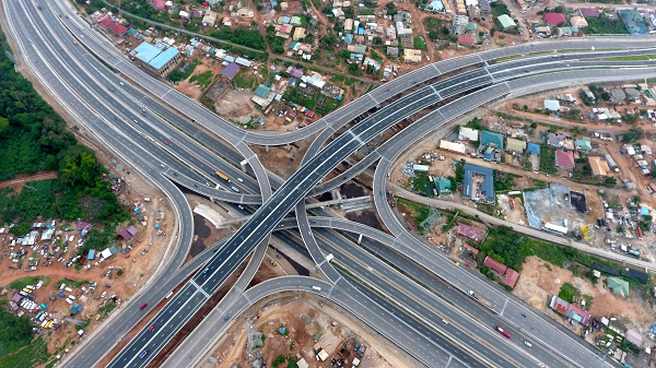 Pokuase Interchange opens - 4-tier facility first in West Africa - Graphic  Online