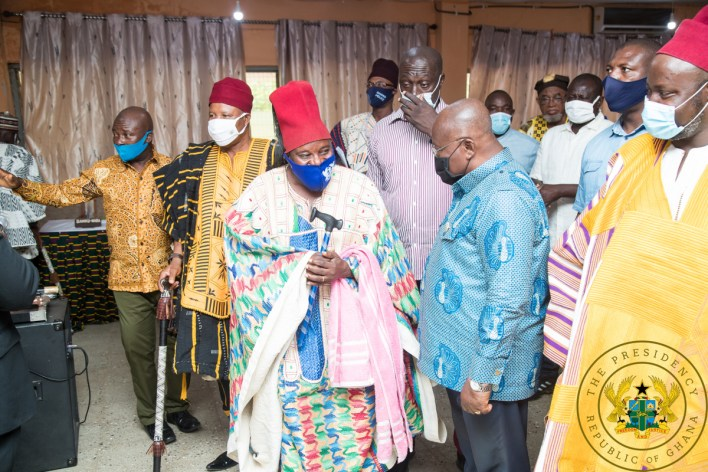 'Look favourably on NPP and give us 4 more years – Akufo-Addo to Upper East 6