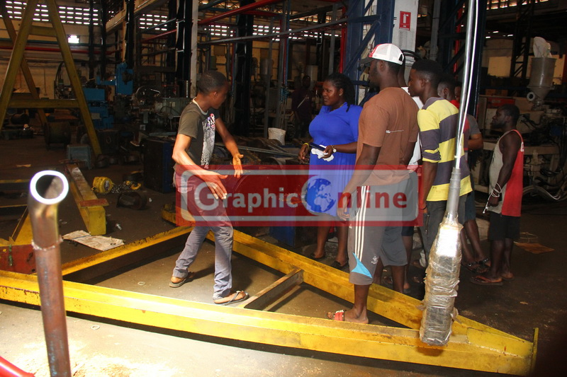 Industrial accident at Melcom's subsidiary kills one