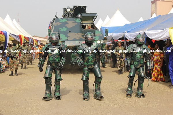 Image result for Kantanka launches armoured vehicle with rangefinder