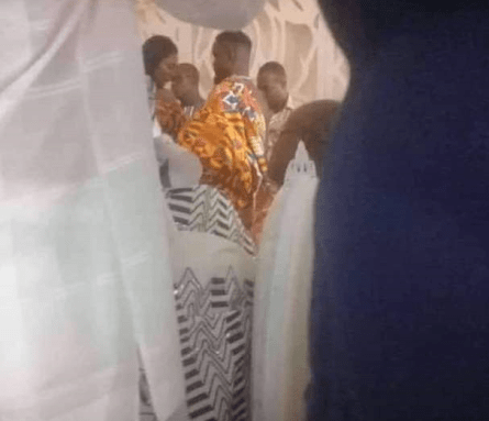 Rapper Sarkodie finally ties the knot