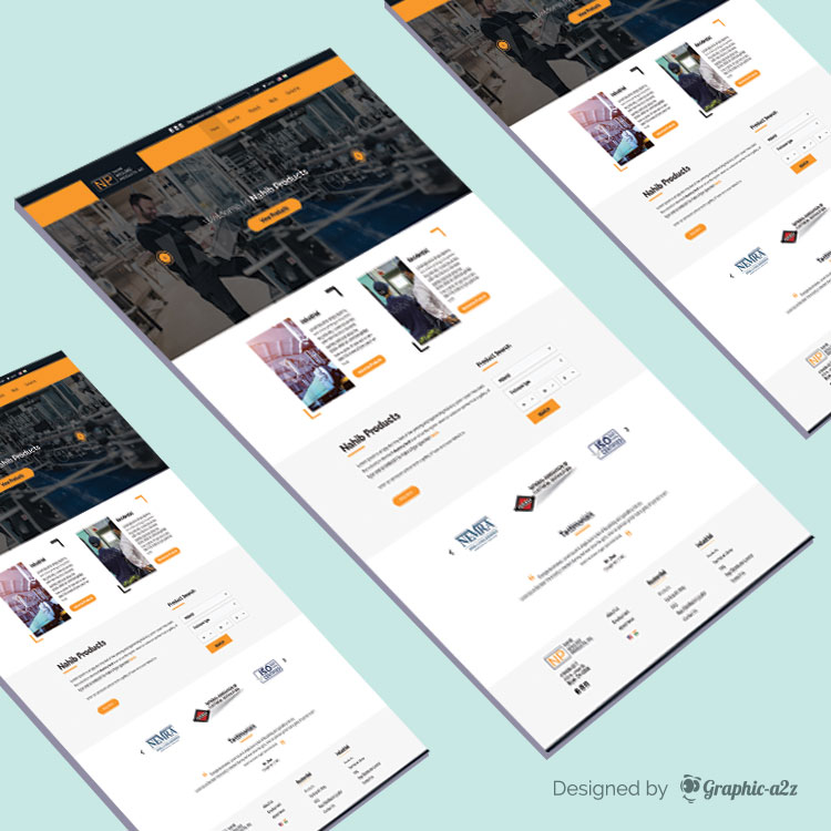 PSD templates, Mockup PSD, products manufacturers contractors website templates on Graphica2z