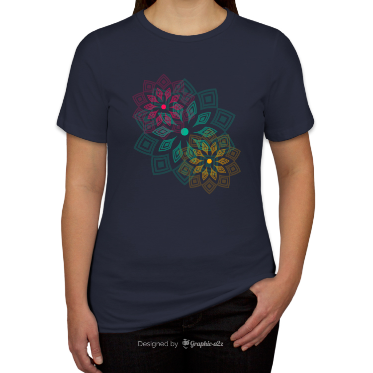 T-shirt design for Women's