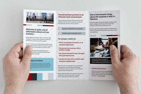 Free Trifold Brochure Template for Photoshop   Illustrator   Graphicadi Trifold brochure template