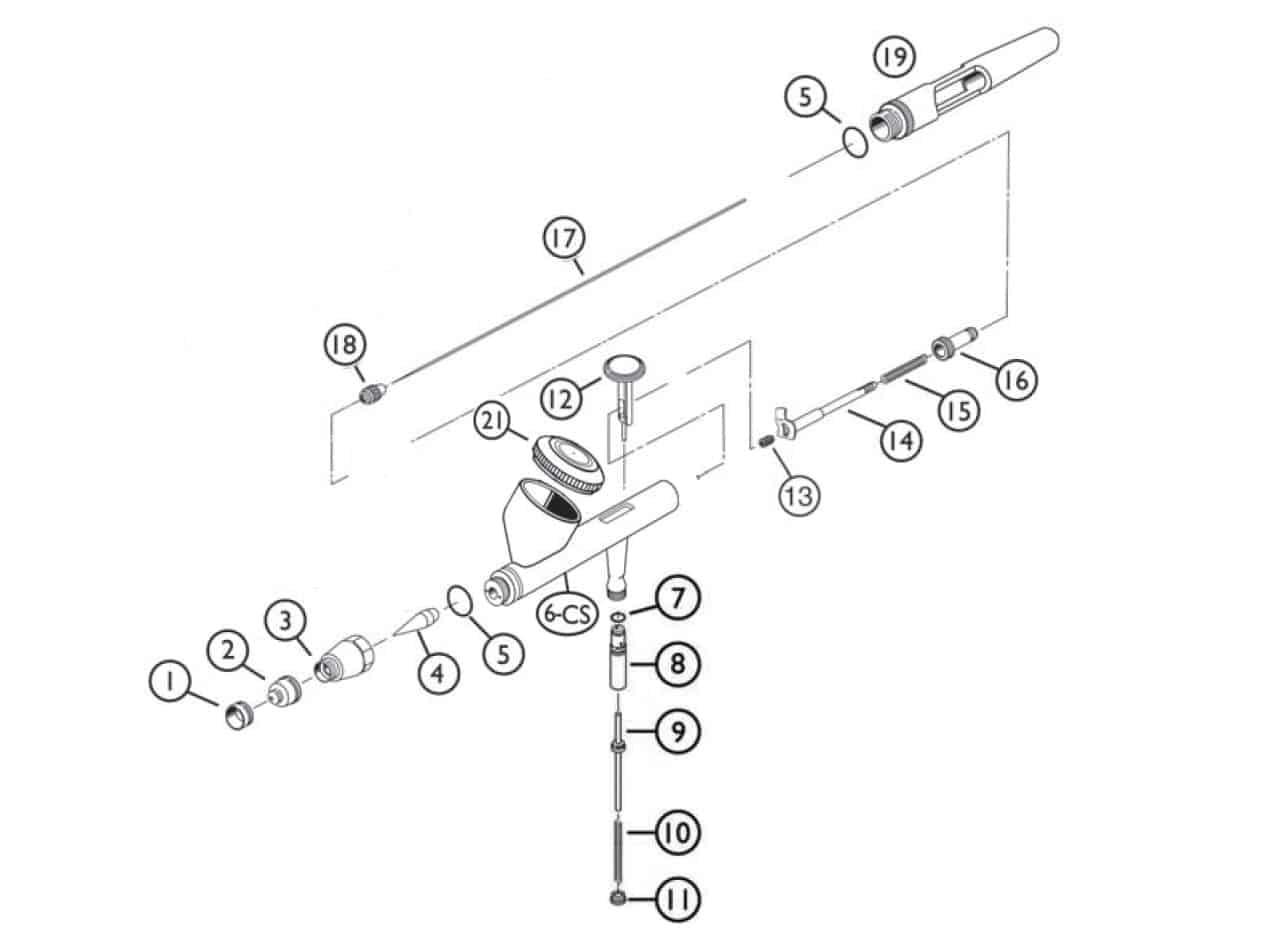 Iwata Eclipse Cs Spare Parts Guide