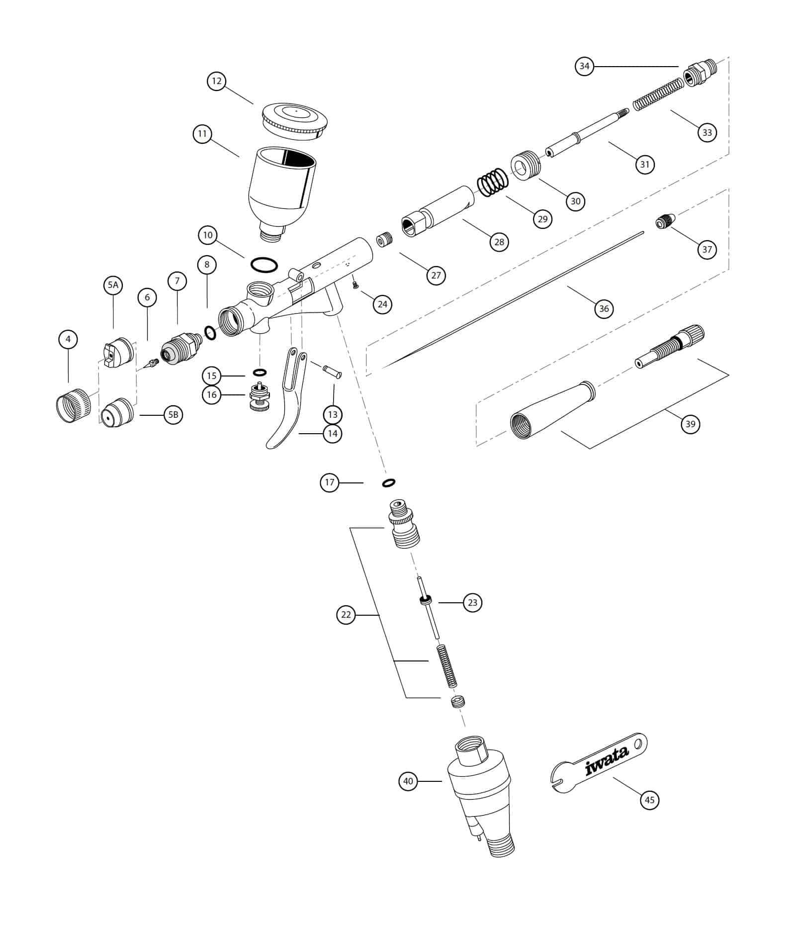 Iwata Eclipse Spare Parts