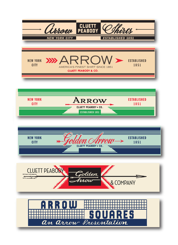 Arrow Cluett Labels and Packaging by Glenn Wolk 19