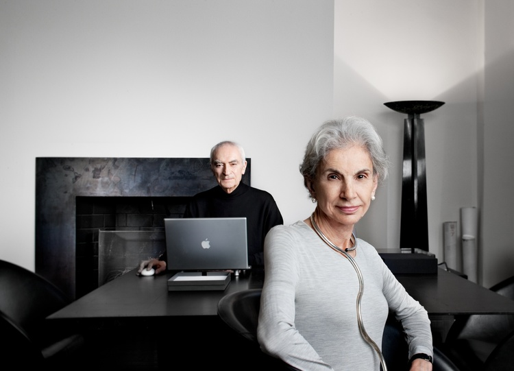 massimo-vignelli and his wife Lella photo copyright John Madere