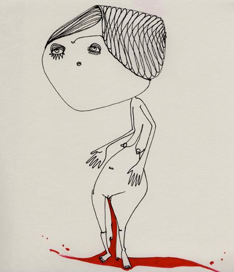 dibujo-chulo-pnitas-paper-sketch-regla