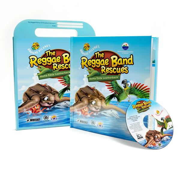 Reggae-Band-Rescues-book