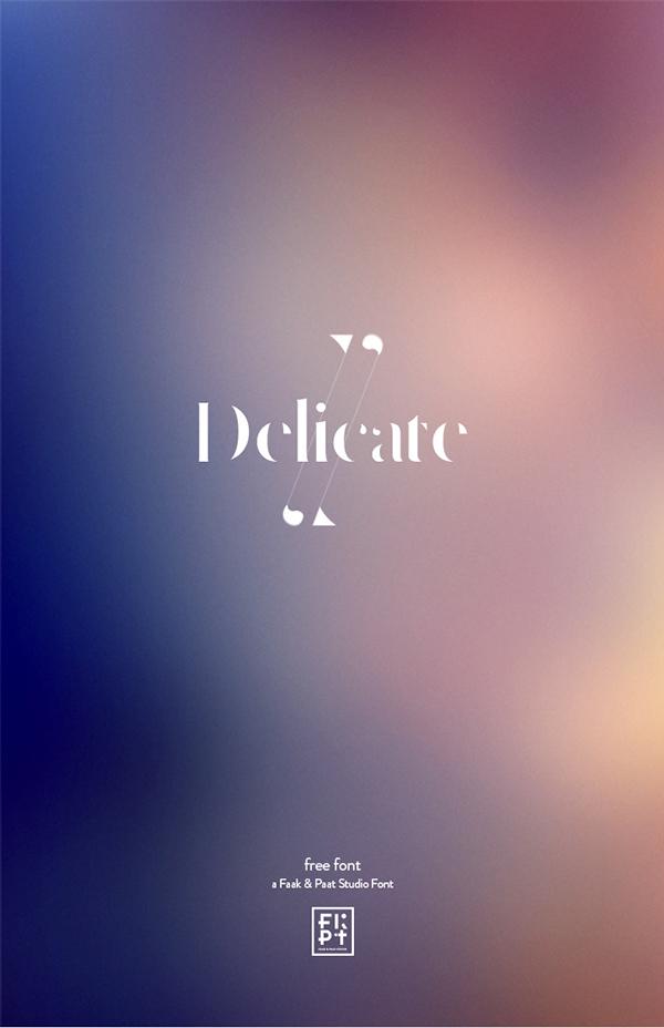 Delicate Font - 2