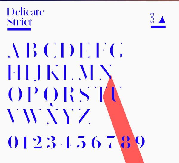 Delicate Font - 3