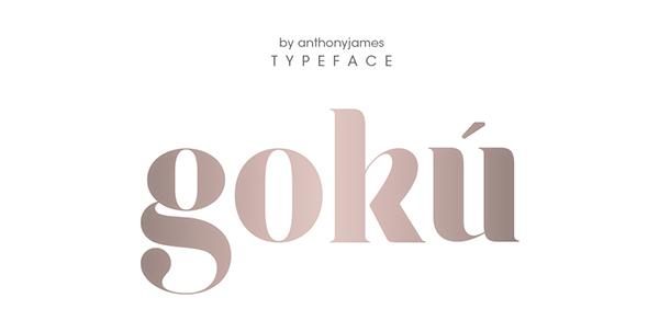 Gokú Font-1