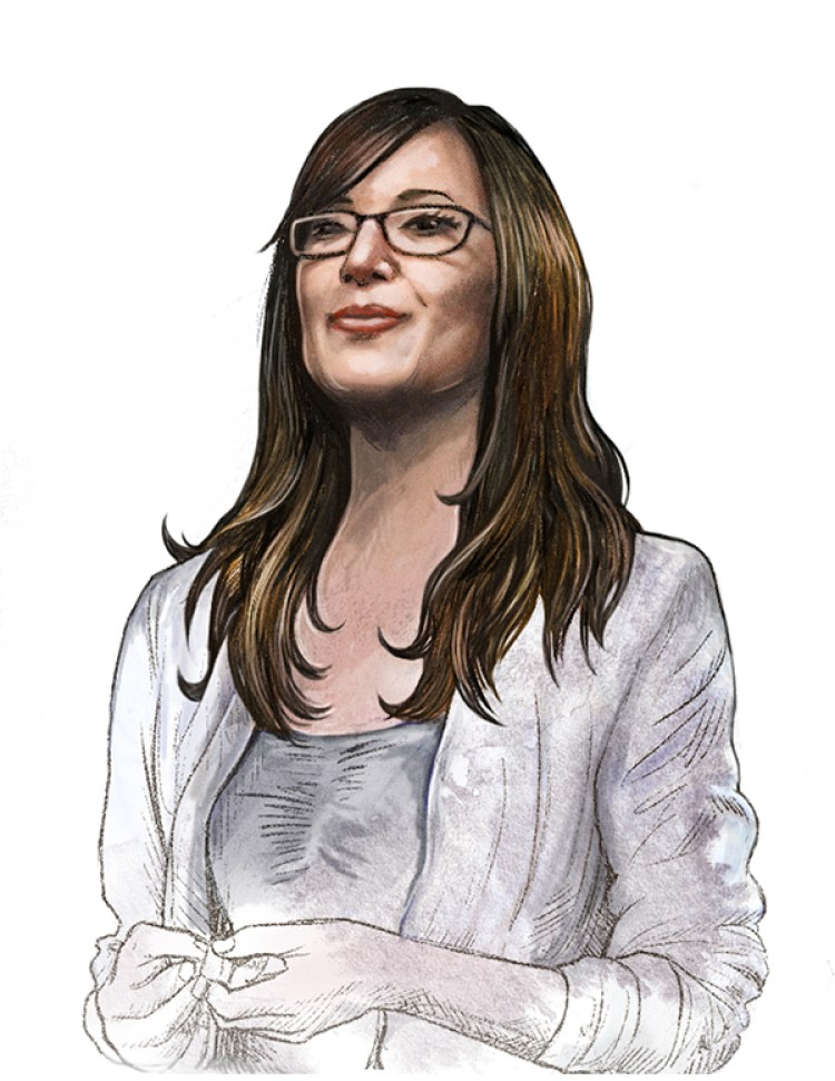 MUTI - illustrated portraits for the Entrepreneurs Guide in Monocle Magazine-Jade Raymond