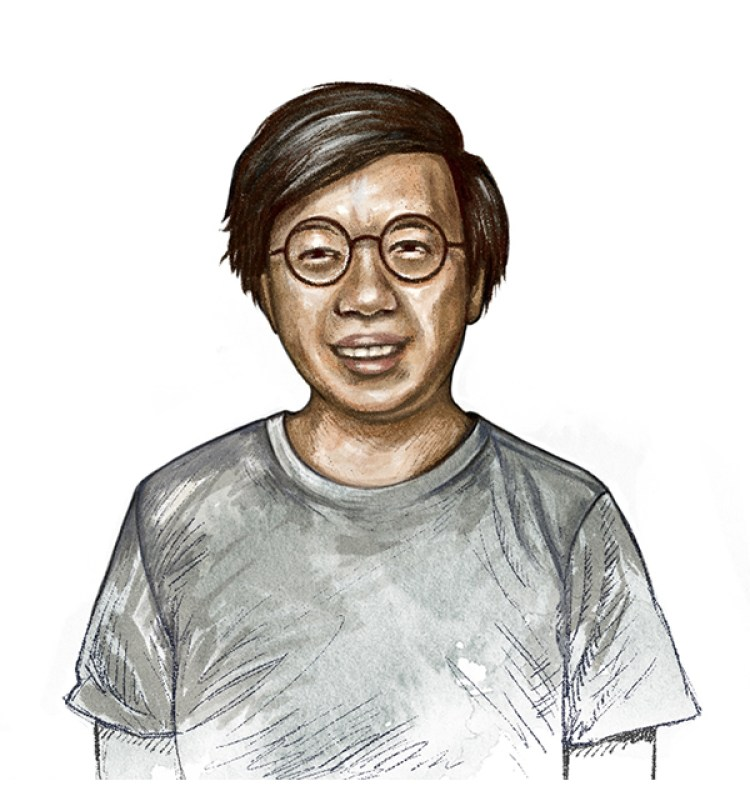 MUTI - illustrated portraits for the Entrepreneurs Guide in Monocle Magazine-Kenny Leck
