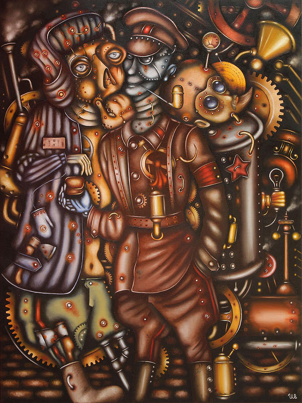 eugene-Ivanov-Oil-painting-07.00_Underworld Kingdom