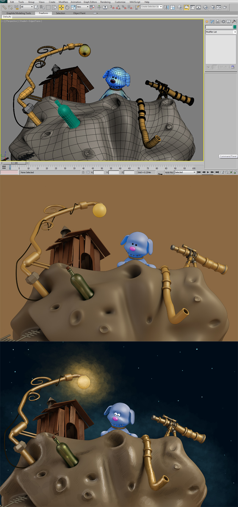 making of immage