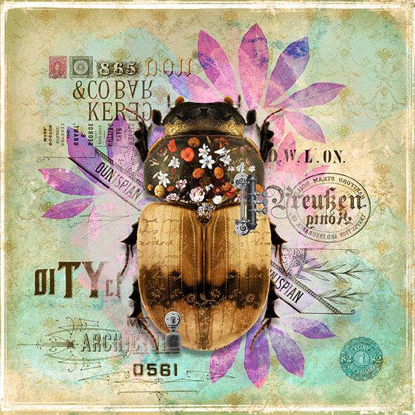 insect artwork by André Sanchez