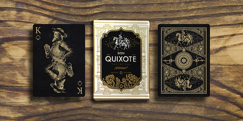 1 Don Quixote - Cards and Tuck