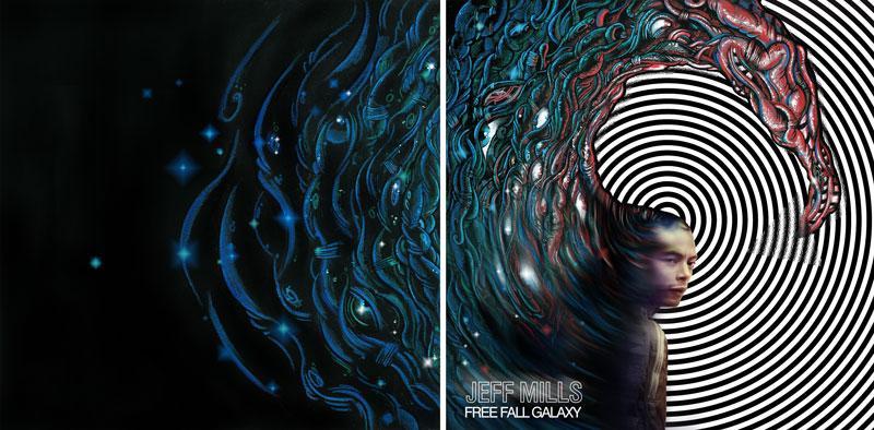 Free Fall Galaxy Cover