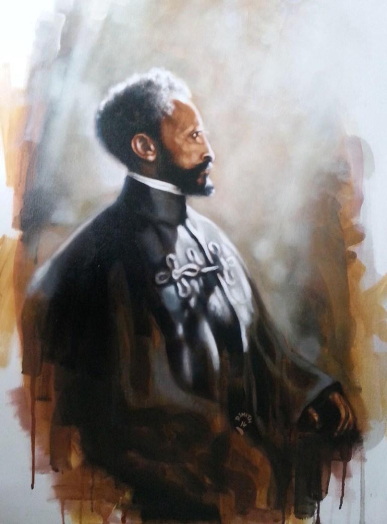 Haile Selassie by Darren Smith