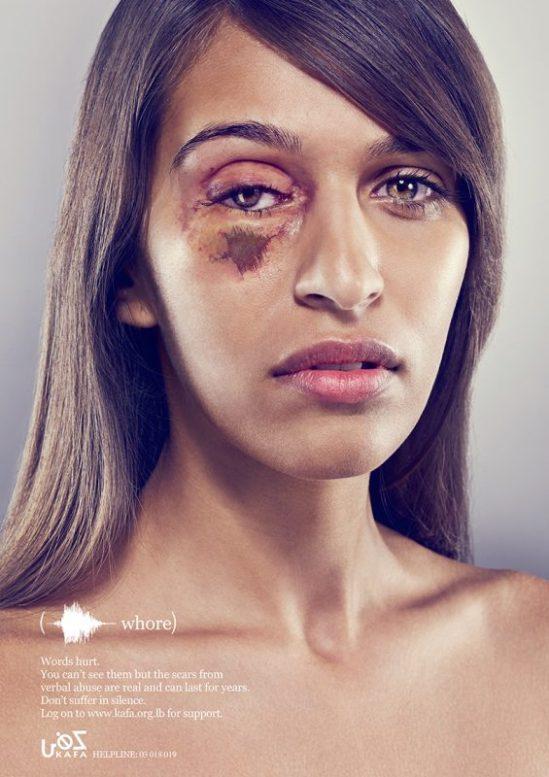 Kalpesh Patankat / Y&R Dubai: Words Hurt - Whore