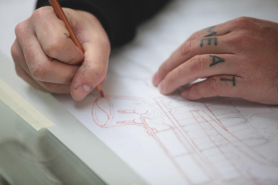 ugo-gattoni-mcbess-sweetbread-lithography-oeuvre-illustration-fine-art-print-collaboration-edition-soldart-14-drawing-pencil-cartoon