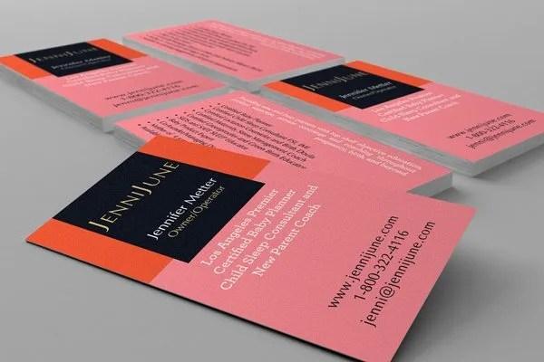 Business Card Design - Babyplanner
