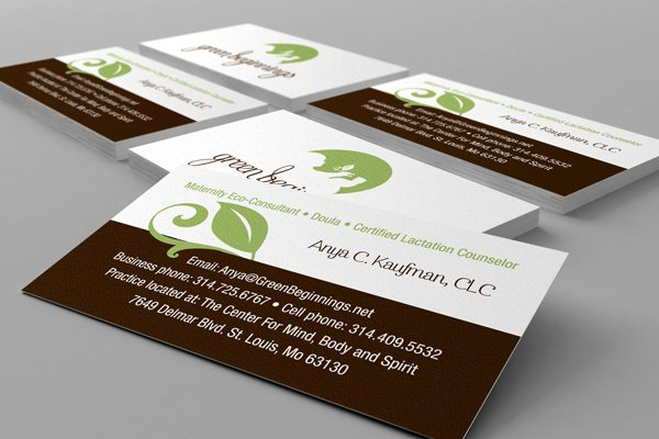 Business Card Design - Health/Eco Related