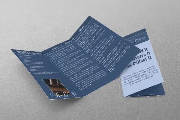 Brochure Sample - Attorney