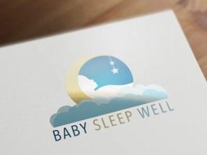Vector Logo Design - Sleep Consultant