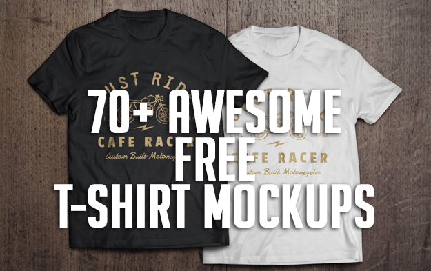 70 Awesome Free T Shirt Mockups Graphic Design Resources