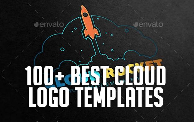 100 best cloud logo templates