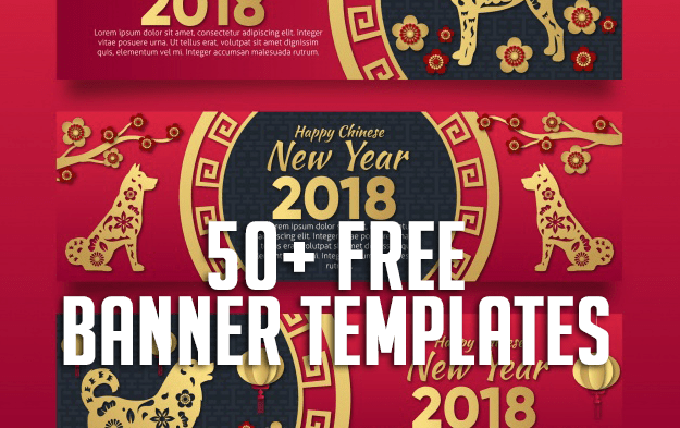 50+ Free Banner Templates