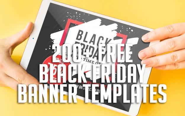 200+ Free Black Friday Banner Templates