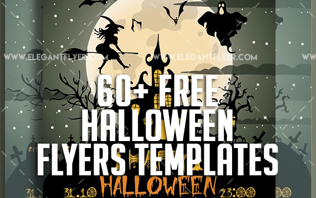 60+ Free Halloween Flyers Templates