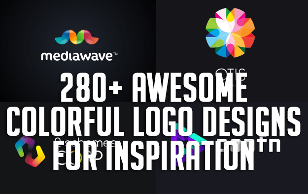 280+ Awesome Colorful Logo Designs for Inspiration