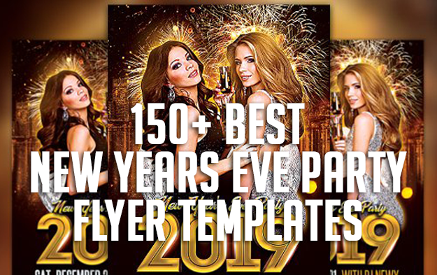150+ Best New Years Eve Party Flyer Templates