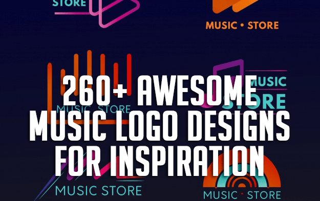260+ Awesome Music Logo Designs for Inspiration