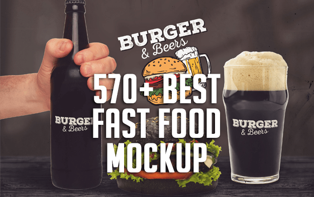 570+ Best Fast Food Branding and Packaging Mockup