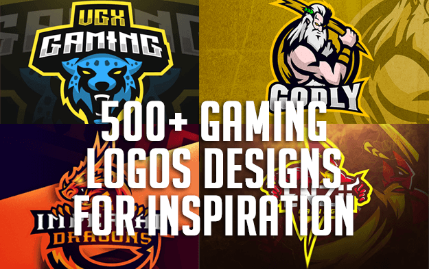 500+ Gaming Logos Designs for Inspiration