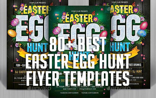 80+ Best Easter Egg Hunt Flyer Templates