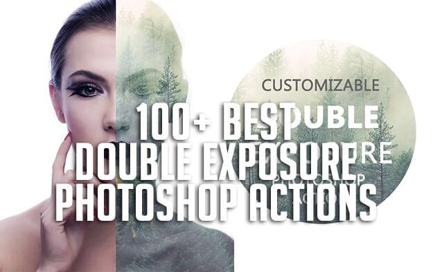 100+ Best Double Exposure Photoshop Actions