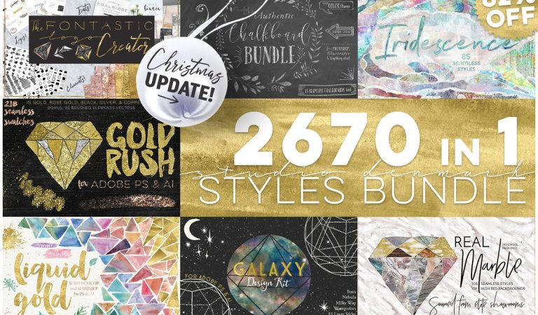 2670 in 1 Styles Bundle 82% Off
