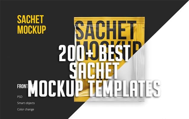 200+ Best Sachet Mockup Templates