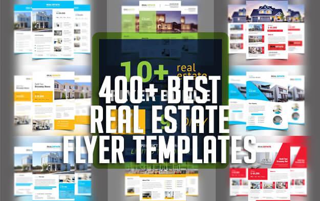400+ Best Real Estate Flyer Templates
