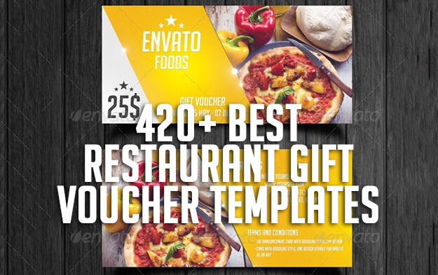 420+ Best Restaurant Gift Voucher Templates