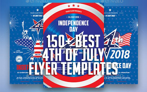 150+ Best 4th of July Flyer Templates