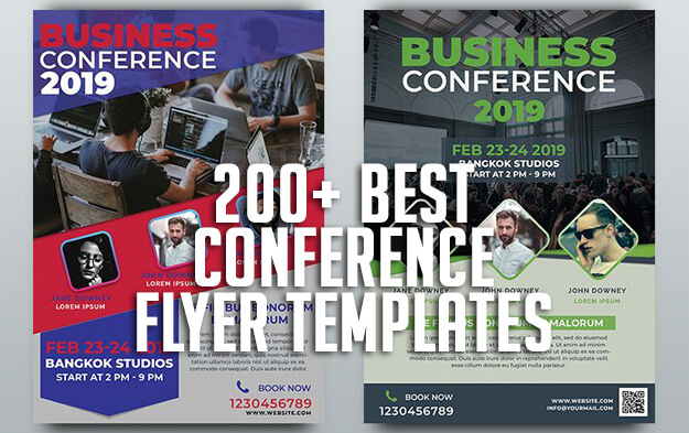 200+ Best Conference Flyer Templates