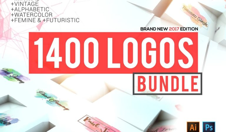 1400 Logos Mega Bundle 99.9% OFF